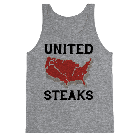 United Steaks Tank Top