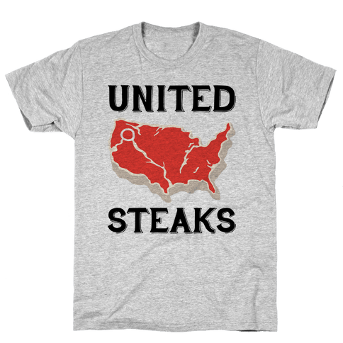 United Steaks Mens T-Shirt