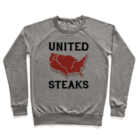 United Steaks Pullover