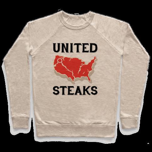 United Steaks Pullover