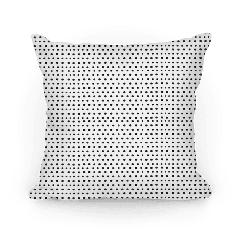 Dot Pattern Pillow