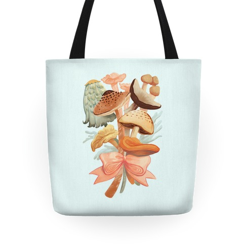 Bouquet Of Mushrooms Tote