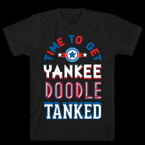 Yankee Doodle Tanked Mens T-Shirt