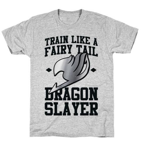 Train Like a Fairy Tail Dragon Slayer (Gajeel) T-Shirt