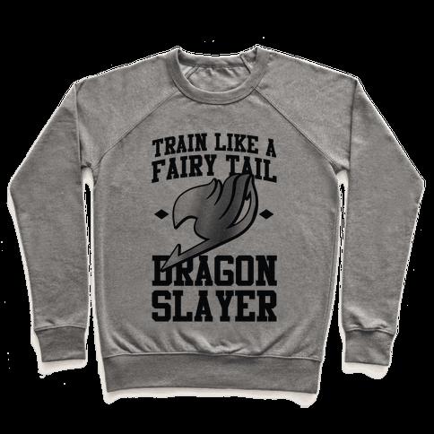 Train Like a Fairy Tail Dragon Slayer (Gajeel) Pullover