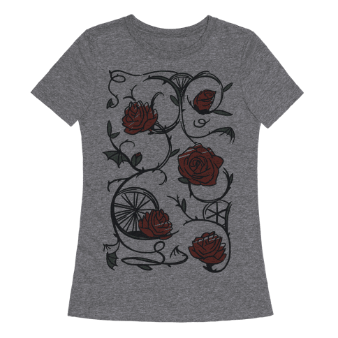 Sleeping Beauty Briar Rose Floral Pattern