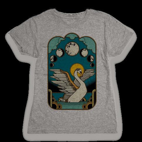 Swan Lake Womens T-Shirt