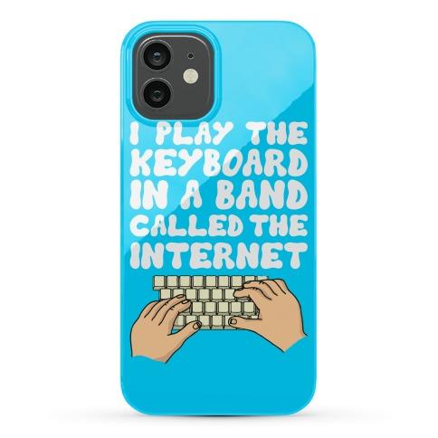 I Play The Keyboard Phone Case