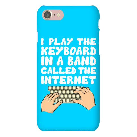 I Play The Keyboard Phone Case