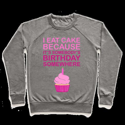 Birthday Cake Pullover