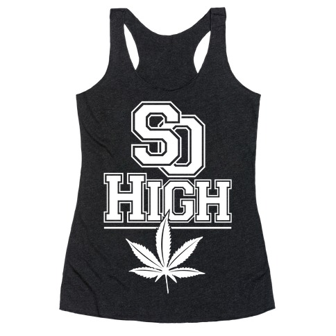So High Racerback Tank Top