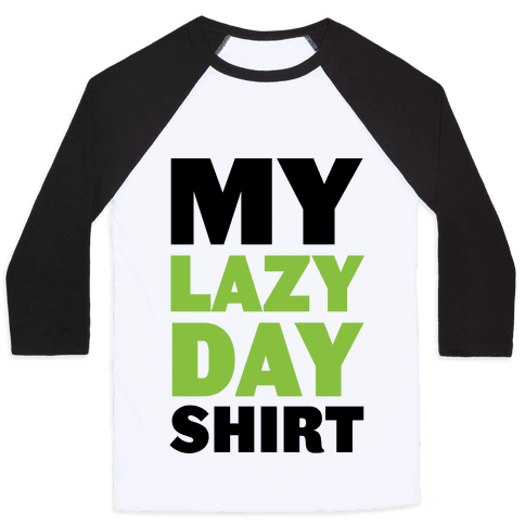 Lazy Day Baseball Tee