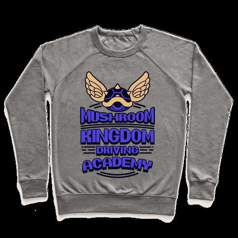 Mushroom Kingdom Driving Academy Pullover