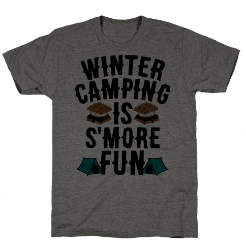 Winter Camping Is S'MORE Fun
