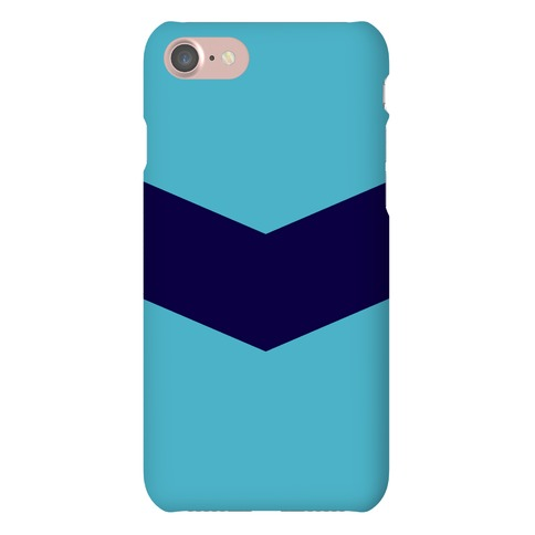 Navy Stripe Chevron Case Phone Case