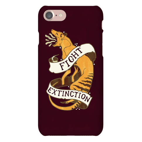 Fight Extinction Phone Case