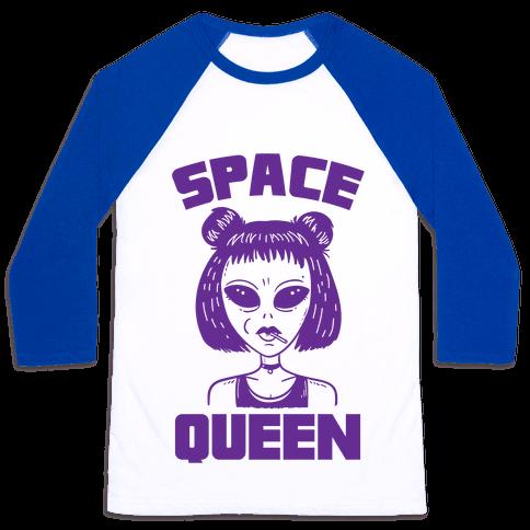 Space Queen Baseball Tee