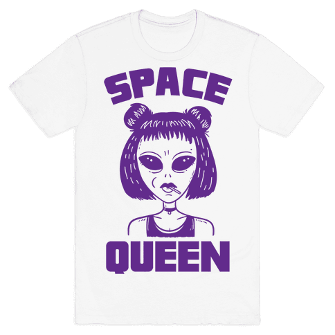 Space Queen Mens T-Shirt