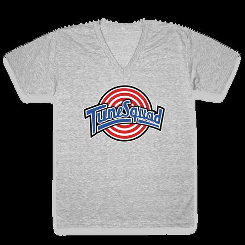TuneSquad V-Neck Tee Shirt