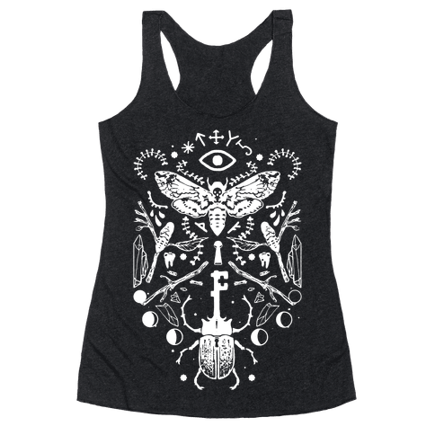 Occult Musings Racerback Tank Top