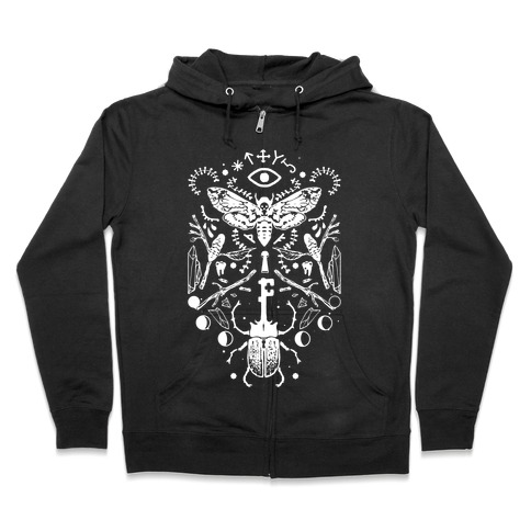 Occult Musings Zip Hoodie