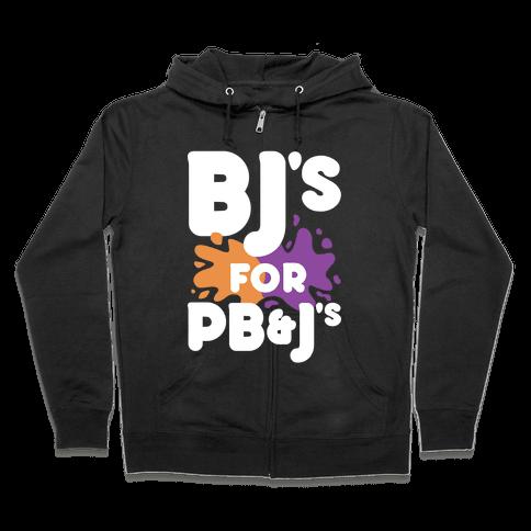 BJ's For PB&J's Zip Hoodie