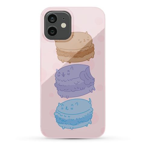 Cat Macarons Phone Case