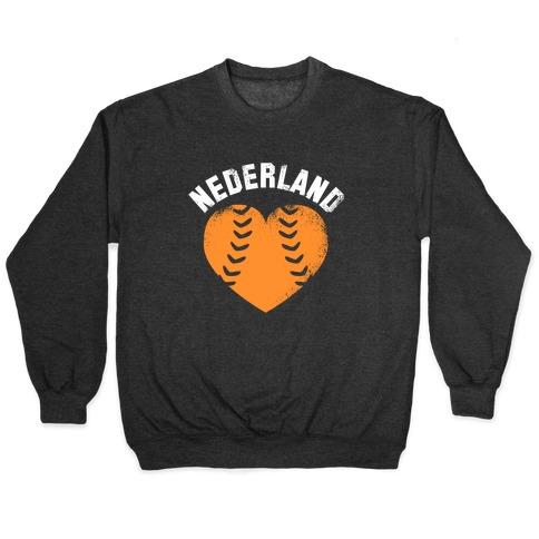 Nederland Baseball Love Pullover