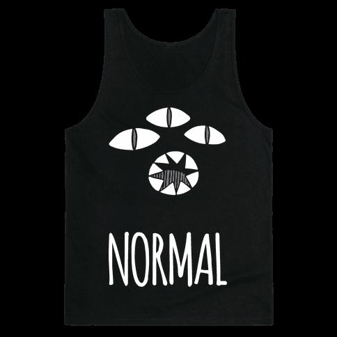 Completely Normal (Kuro cat) Tank Top