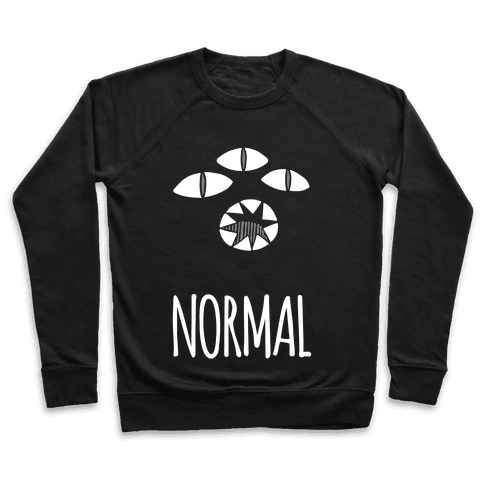 Completely Normal (Kuro cat) Pullover