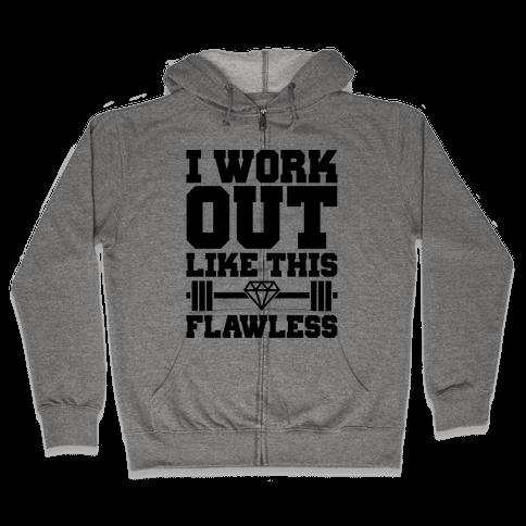 Flawless Workout Zip Hoodie