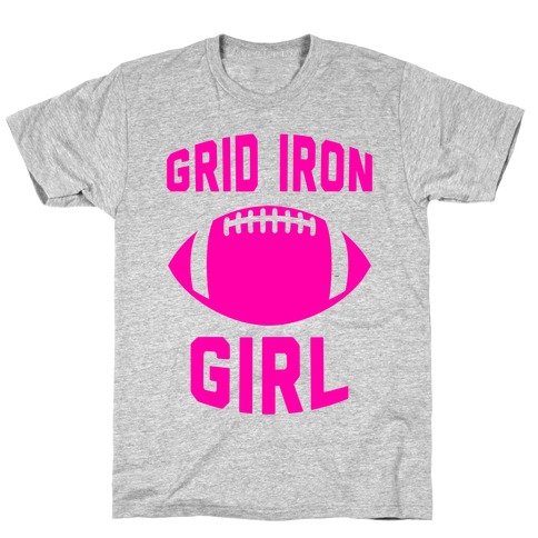 Grid Iron Girl T-Shirt