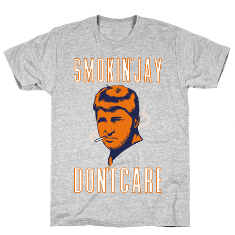 Smokin' Jay Don't Care Mens T-Shirt