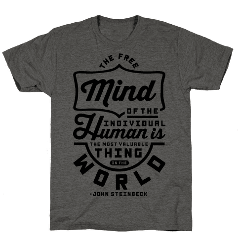 The Most Valuable Thing In The World Mens T-Shirt