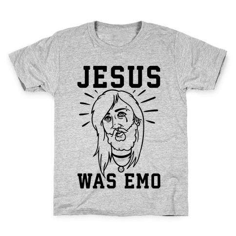 Jesus Was Emo Kids T-Shirt