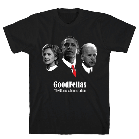 Obama is a GoodFella Mens T-Shirt