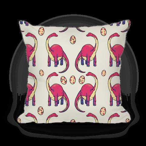 Derpy Dinosaur Pillow