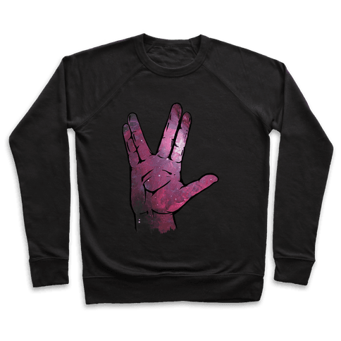 Live Long and Prosper Galaxy Pullover