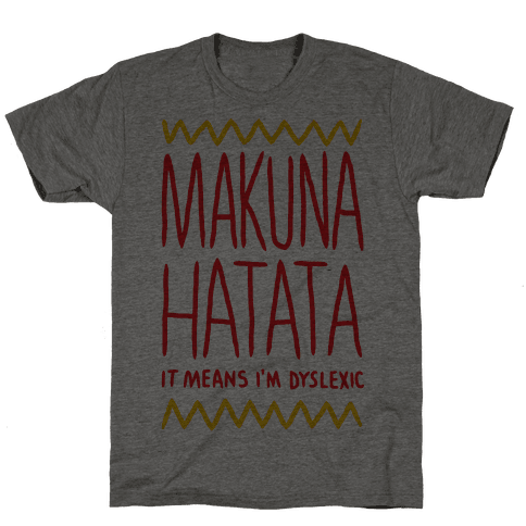 Makuna Hatata Mens T-Shirt