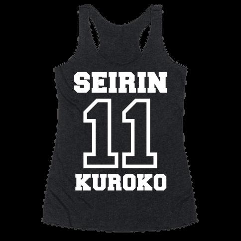 Seirin Number 11: Kuroko Racerback Tank Top