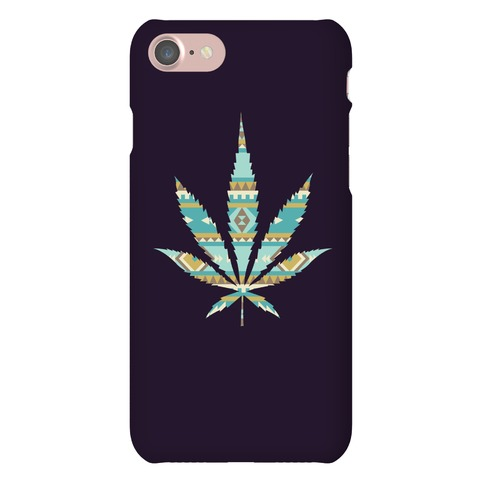 Navajo Leaf Phone Case