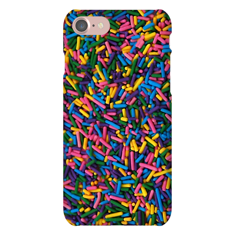 Faux Sprinkle Texture Phone Case