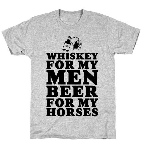 Whiskey For My Men T-Shirt
