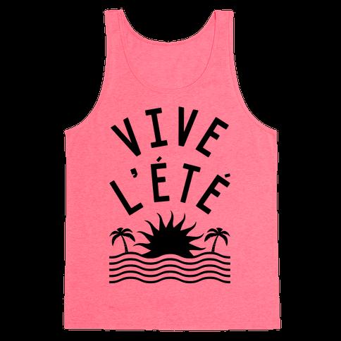 Vive L'Ete Tank Top