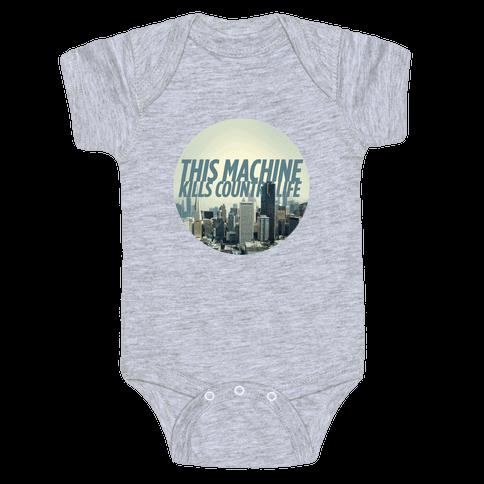 This Machine Kills Country Life Baby Onesy