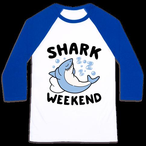Shark Weekend Baseball Tee