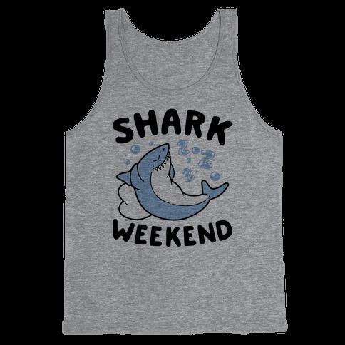 Shark Weekend Tank Top