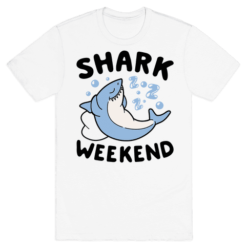 Shark Weekend Mens T-Shirt