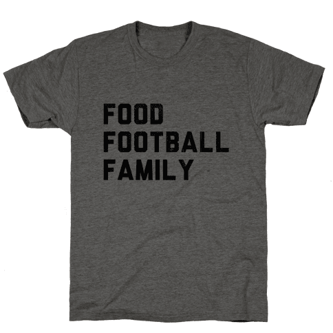 Food, Football & Family (Things I'm Thankful for)