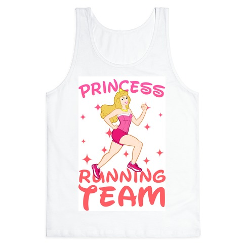 Princess Running Team (Pink) Tank Top